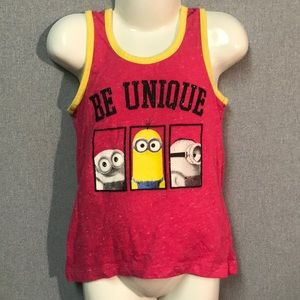 "Other - Minions Tank Top ""Be Unique"""